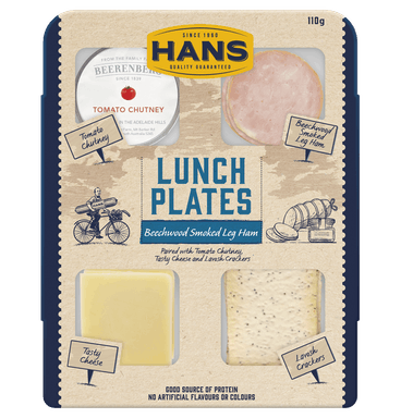 HANS LUNCH PLATE HAM &TOM 110G