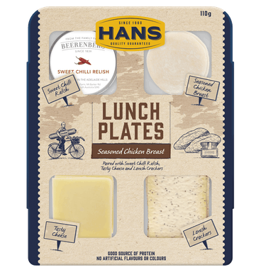 HANS LUNCH PLATE CHICK & CHILLI 110G